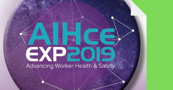 Sanipur partecipa a AIHce exp 2019 a Minneapolis
